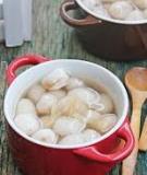Chè bột lọc bọc đậu phộng thơm bùi lạ miệng