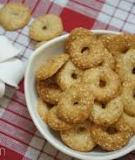 Bánh quy vòng cho Tết cổ truyền