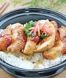 Bữa trưa văn phòng ngon với cơm gà kiểu Nhật