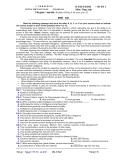 ĐỀ THI THỬ ĐH - CĐ ĐỢT 1 Môn: Tiếng Anh  -  ĐỀ THI THỬ ĐH - CĐ ĐỢT 1 Môn: Tiếng Anh