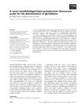 Báo cáo khoa học: A novel metallobridged bis(b-cyclodextrin)s fluorescent probe for the determination of glutathione