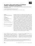 Báo cáo khoa học: The allene oxide cyclase family of Arabidopsis thaliana – localization and cyclization