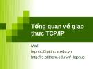 Tổng quan về giao thức TCP/IP