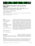Báo cáo khoa học: Plant–pathogen interactions: what is proteomics telling us?