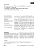 Báo cáo khoa học: Molecular aspects of rheumatoid arthritis: chemokines in the joints of patients