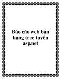 Bao cao web ban hang truc tuyen asp.net