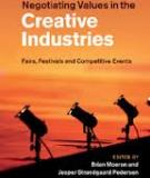 Negotiating Values in the Creative Industries