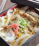 Katsudon - cơm thịt heo chiên xù kiểu Nhật