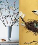 5 kiểu cắm hoa ngày xuân tươi đẹp và đầy sức sống