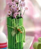 2 cách F5 lọ hoa ấn tượng với cành cây khô