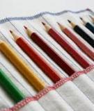 10 phút may túi đựng bút màu cho bé yêu