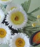 Cách dễ dàng làm hoa cúc giấy nhỏ xinh