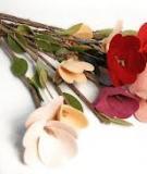 Ấm áp và lãng mạn cùng bó hoa Valentine tự làm