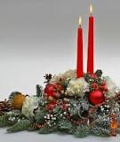Cắm hoa và nến lung linh đón Giáng sinh