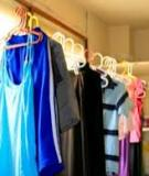 Quầo áo phơi trong nhà dễ gây bệnh