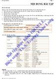 Bài tập Oracle Viết chương trình quản lý bán sách tại 1 cửa hàng