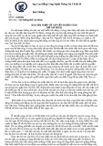 BÀI CẢM NHẬN VỀ CHUYẾN ĐI BẢO TÀNG  HỒ CHÍ MINH