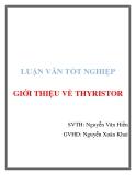 Luận văn tốt nghiệp: Giới thiệu về Thyristor