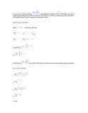 Dạng toán và phương pháp giải với quy tắc L'Hopitan