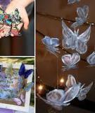 Cánh bướm xinh xắn tái chế từ vỏ chai nhựa
