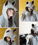 Hóa trang áo sói chơi Halloween thật vui