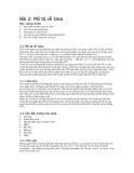 Bài 2 mô tả về java