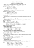 PHẦN A: HÓA HỌC VÔ CƠ Chuyên đề 1: Viết phương trình hoá học