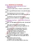 ĐỘNG TỪ NGHUYÊN MẪU CHỈ MỤC ĐÍCH