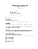 Giáo án 1 Tin học 11 Chương III: Cấu trúc rẽ nhánh và lặp