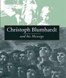 Christoph Blumhardt and his Message
