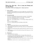 Tiêu chuẩn Việt Nam TCVN 6161:1996 Phòng cháy chữa cháy- chợ và trung tâm thương mại-yêu cầu thiết kế