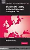 Environmental Liability and Ecological Damage in European Law