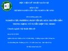 Đề tài: NGHIÊN CỨU PHƯƠNG PHÁP TỐI ƯU HÓA TRUYỀN DẪN TRONG MẠNG VÔ TUYẾN HỢP TÁC MIMO