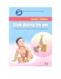 Giáo trình Dinh dưỡng trẻ em - Bùi Thúy Ái (chủ biên)