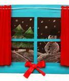 Khung tranh cửa sổ dễ thương dành cho bé
