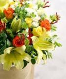 Cắm hoa thật đẹp mừng ngày Quốc Khánh 2-9