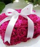 Hướng dẫn cắm hoa hình hộp quà đáng yêu
