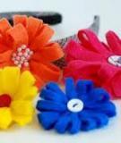 Làm hoa vải siêu tốc và dễ thương