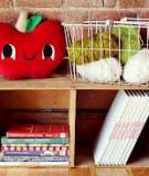 May gối táo đỏ dễ thương trang trí nhà mình