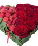 Cắm hoa hình trái tim lãng mạn tặng nửa kia