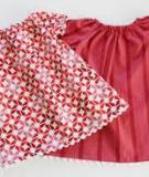 May áo váy siêu đơn giản mà cực dễ thương