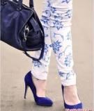 Mùa hè sành điệu với quần jeans tự vẽ cực cá tính