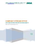 Hệ thống văn phòng điện tử (eoffice) - Company Stream Office (CSOffice)