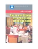 Giáo trình bảo vệ môi trường vệ sinh an toàn trong nhà hàng