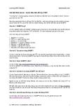 Câu hỏi và bài tập PHP, My Sql