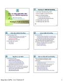 Công nghệ phần mềm - Chương 3 thiết kế hệ thống