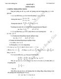 Bài tập hình học - Chuyên đề 3 : Đường thẳng