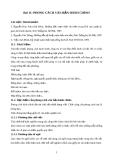 Bài 11: PHONG CÁCH VĂN BẢN HÀNH CHÍNH
