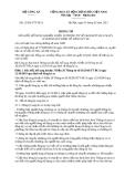 THÔNG TƯ  12/2013/TT-BCA BỘ CÔNG AN