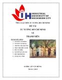 Tiểu luận môn tư tưởng Hồ Chí Minh về Thanh Niên